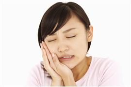 智歯周囲炎のイメージ